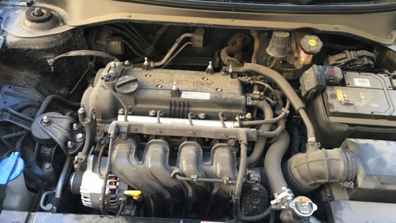 Двигатель КИА Рио Х Лайн 1.6 – конструкция, особенности, поломки