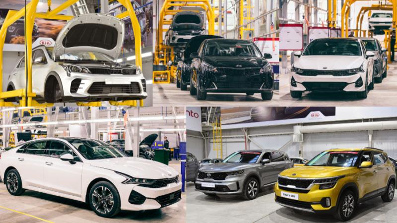 В Казахстане стартовала сборка шести моделей KIA