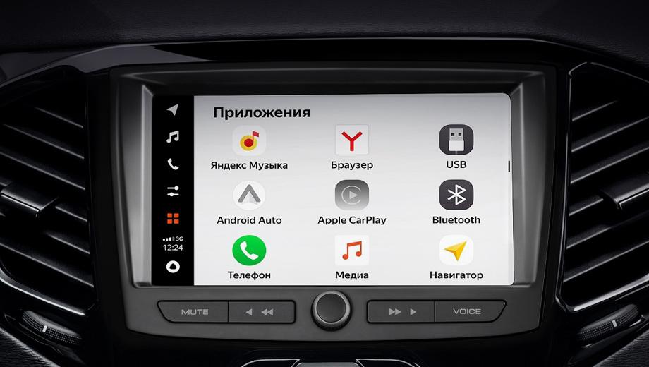 Lada анонсировала создание новой мультимедиа EnjoY Pro