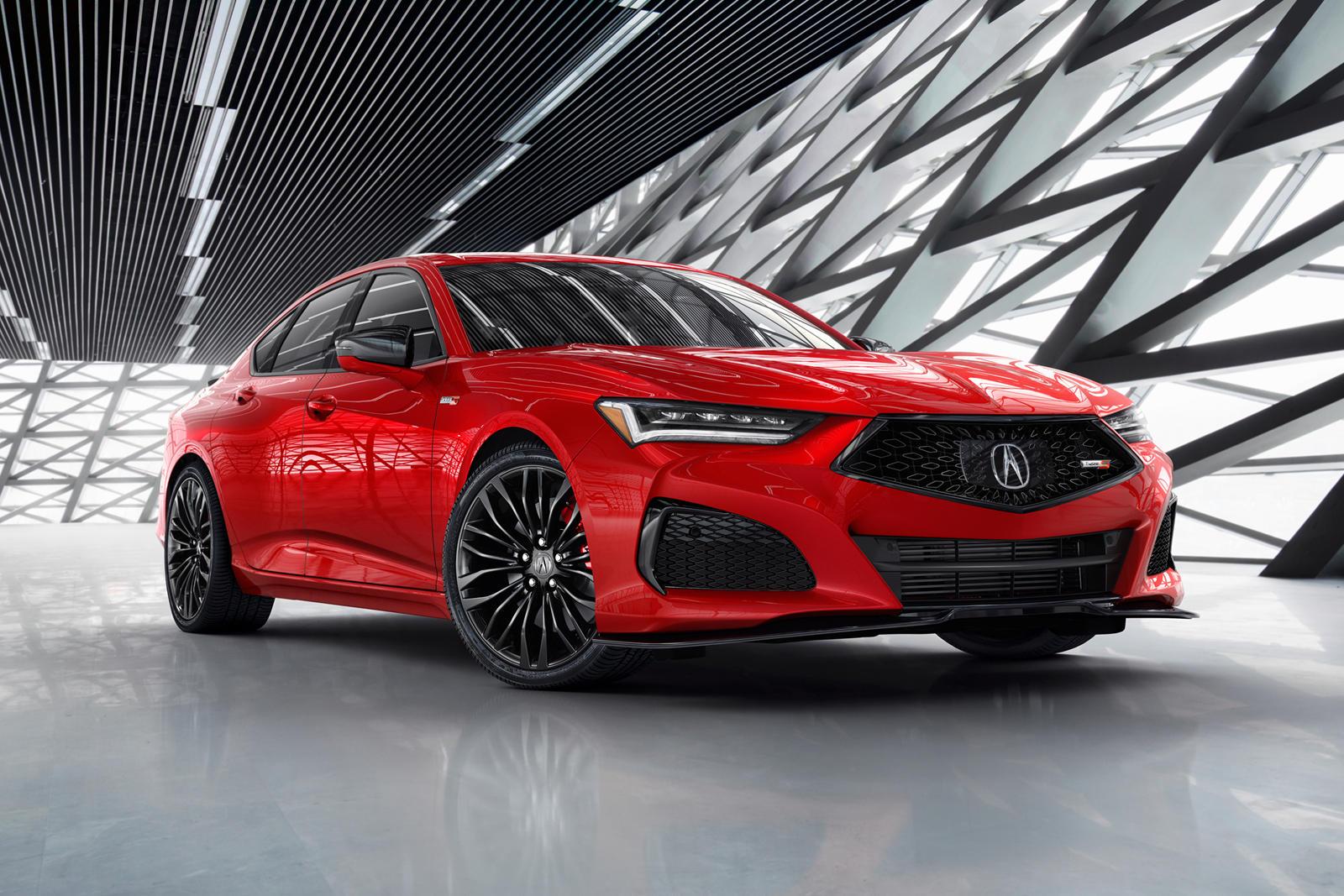 В мае в США стартуют продажи новой Acura TLX