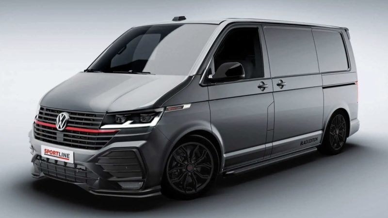 Volkswagen выпустил спортивный фургон Transporter T6.1 Sportline