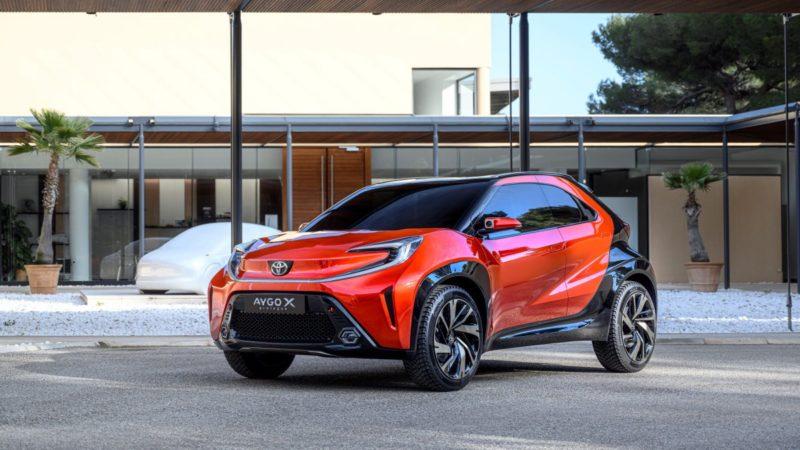 Концепт Toyota Aygo X prologue намерен закрепиться в классе А в Европе