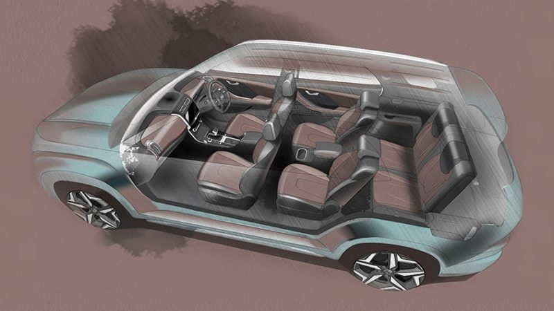 Кроссовер Hyundai Alcazar в Индии получит 7-местный салон