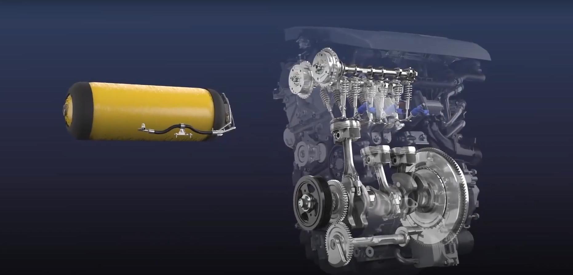 Toyota создала гоночный двигатель внутреннего сгорания на водороде