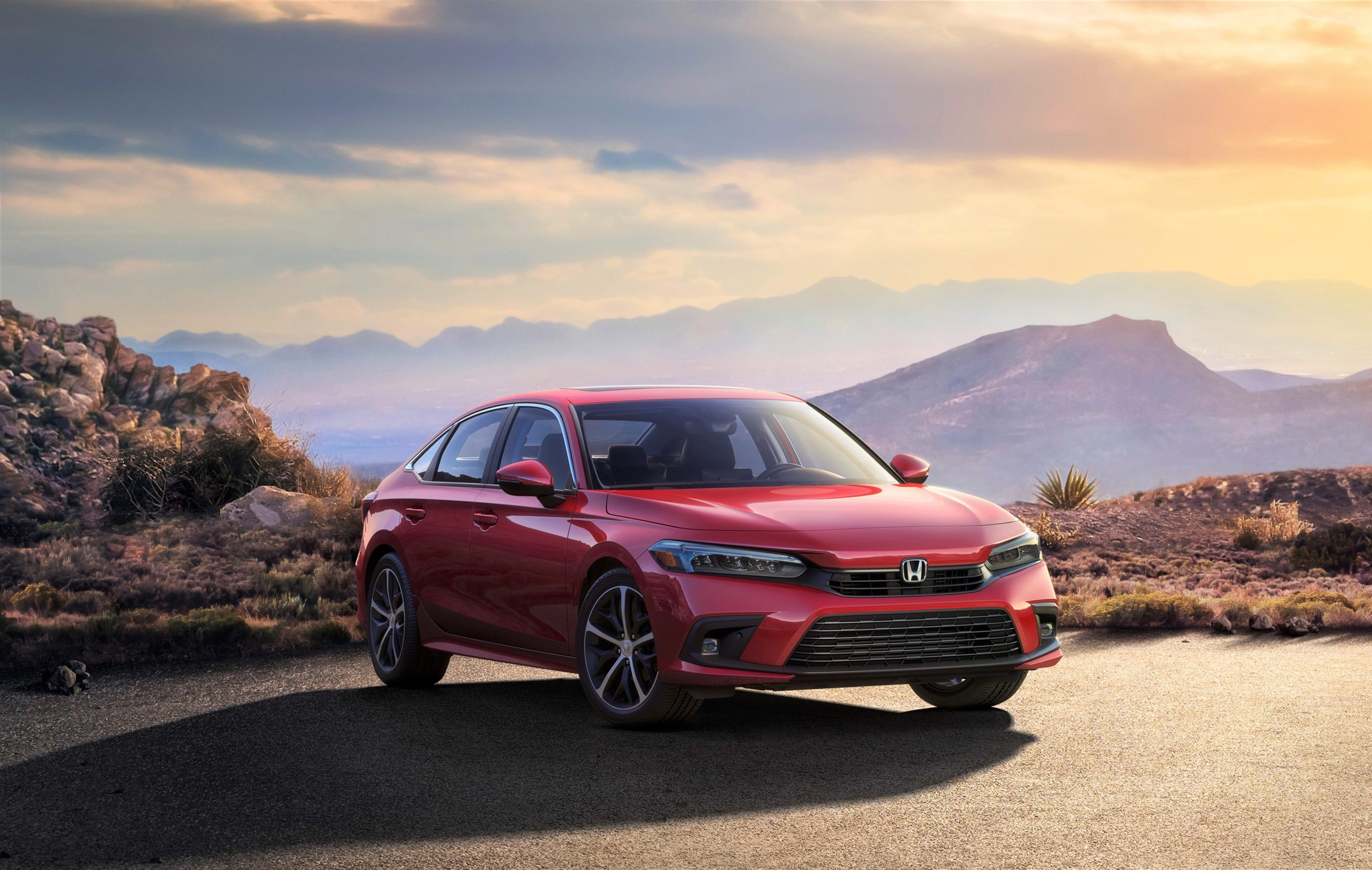 Honda показала внешность нового Civic XI поколения