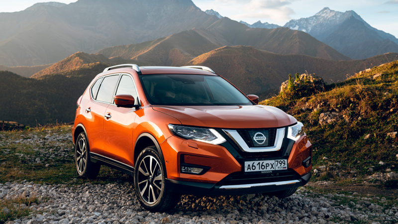 Российские Nissan X-Trail и Qashqai обзавелись автопилотом
