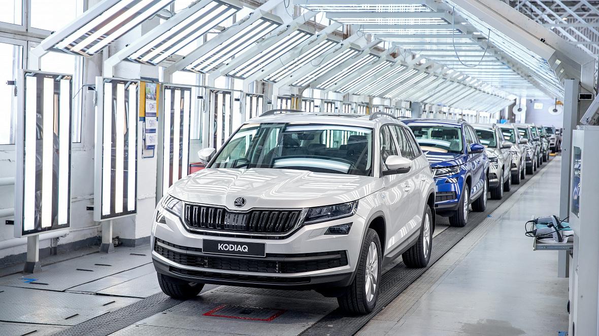 Компания Skoda собрала в России 750-тысячный автомобиль
