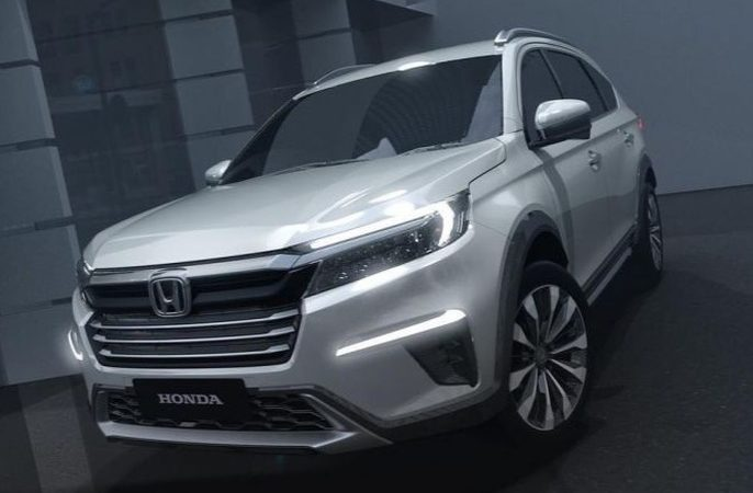 Новая 7-местная Honda N7X заменит кроссовер BR-V